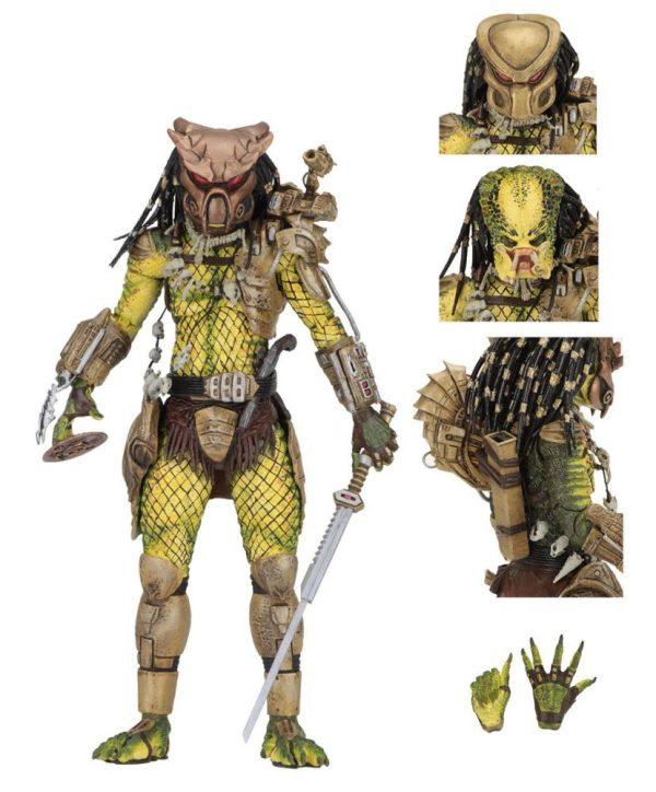 x_neca51573 Predator 1718 Akciófigura - Ultimate Elder: The Golden Angel 21 cm
