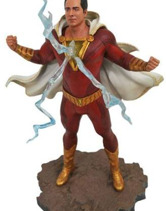 d_diamfeb192438 Shazam! DC Movie Gallery PVC Szobor - Shazam 23 cm
