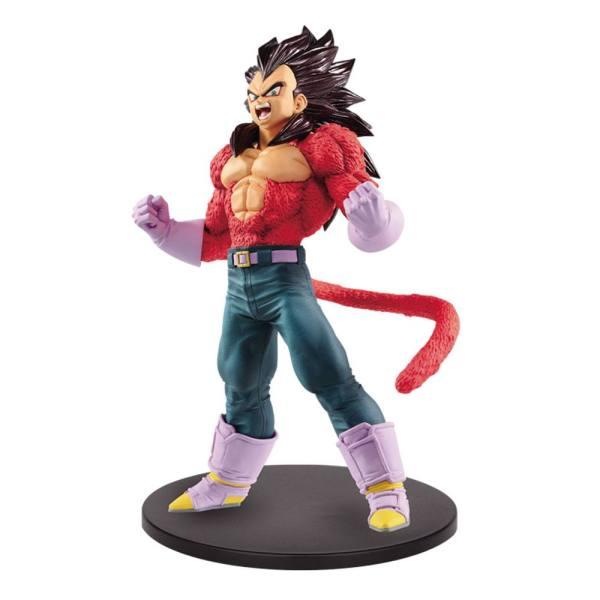 x_banp85211 Dragon Ball GT Blood of Saiyans PVC Szobor - Super Saiyan 4 Vegeta Metallic Hair Color 20 cm