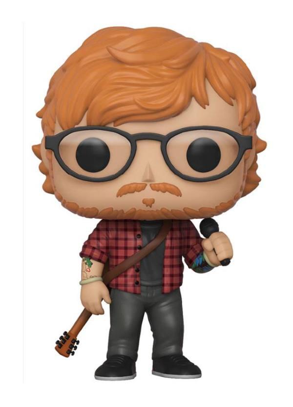 x_fk29529 Ed Sheeran Funko POP! Rocks Figura - Ed Sheeran 9 cm