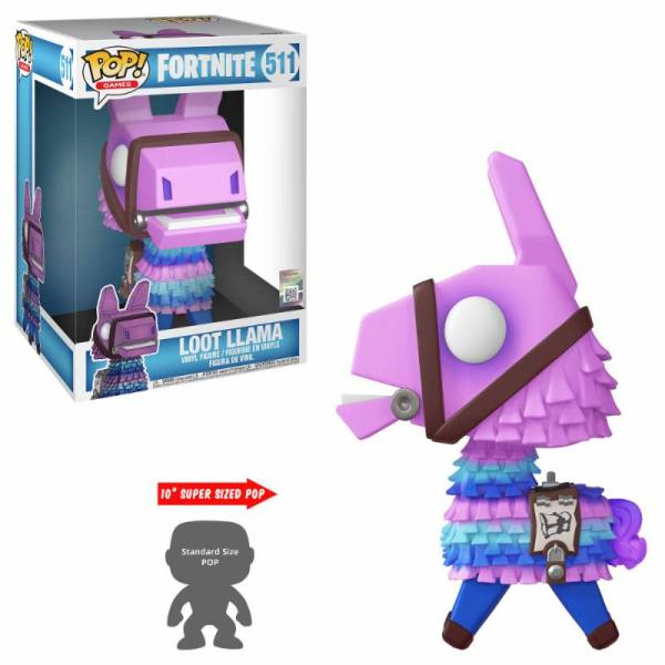 x_fk39049 Fortnite Games Super Sized Funko POP! figura - Loot Llama 25 cm