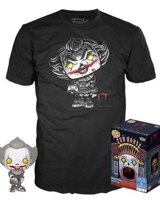 Stephen Kings It POP! & Tee Box Pennywise heo Exclusive