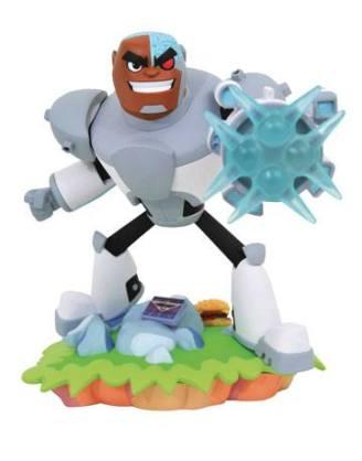 d_diamaug192727 DC Gallery Teen Titans Go! PVC Szobor - Cyborg 20 cm