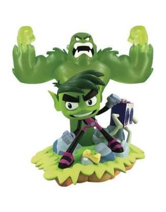d_diamjul192662 DC Gallery Teen Titans Go! PVC Szobor - Beast Boy 23 cm