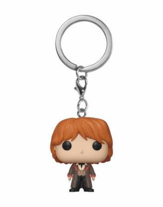 x_fk42630 Harry Potter Funko Pocket POP! kulcstartó - Ron (Yule) 4 cm