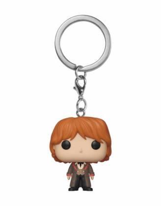 x_fk42630 Harry Potter Funko Pocket POP! kulcstartó - Ron (Yule) 4 cm