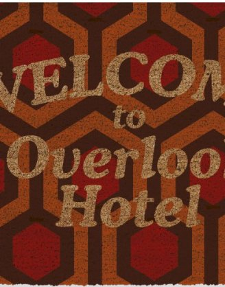 x_sdtwrn22762 The Shining lábtörlő - Welcome To Overlook Hotel 43 x 73 cm