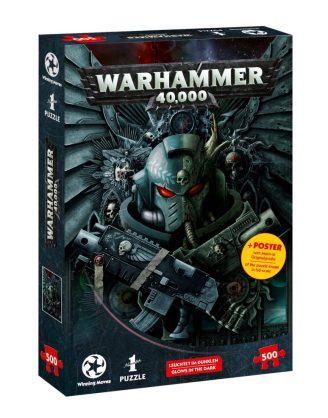 x_wimo11668 Warhammer 40.000 Jigsaw Puzzle Glow-in-the-dark 500 db-os