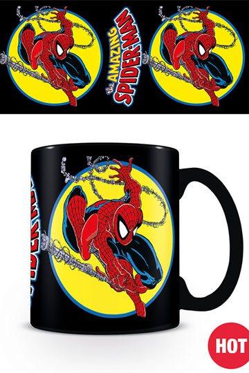 Marvel Comics - Spider-Man Iconic Issue hőre változós bögre