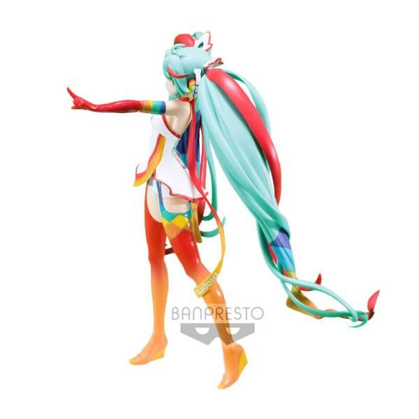 x_banp25413 Racing Miku SQ PVC Szobor - Hatsune Miku 2016 Racing Version 18 cm