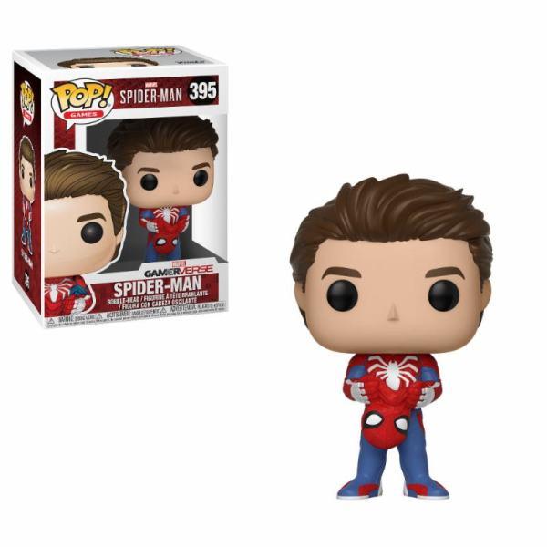 x_fk30633 Unmasked Spider-Man 9 cm