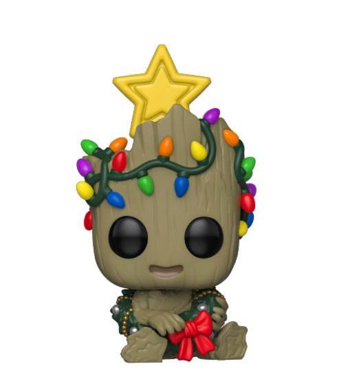 x_fk43333 Marvel Holiday Funko POP! Figura – Groot 9 cm