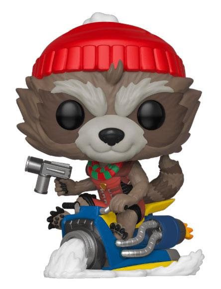 x_fk43334 Marvel Holiday Funko POP! Figura – Rocket 9 cm