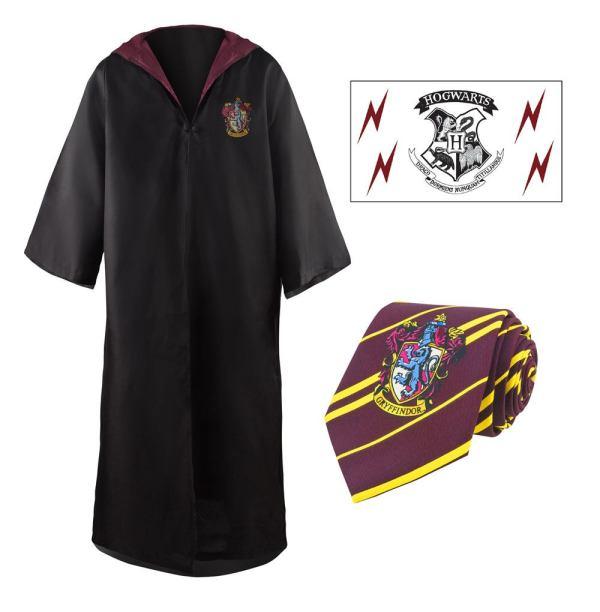 x_hpe5602 Harry Potter - Griffendél palást, nyakkendő, tetoválás