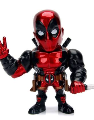 Marvel Comics Metals Diecast Mini Figura - Deadpool 10 cm