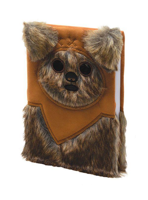 x_sr72706 Star Wars Premium A5 Jegyzetfüzet A5 Ewok (Fluffy)