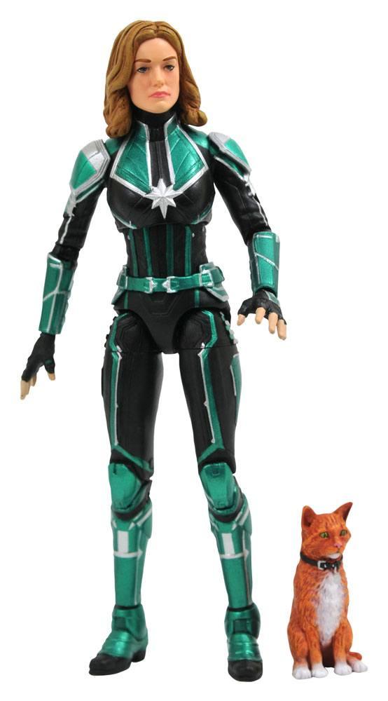 x_diamjan192554 Captain Marvel Marvel Select Akciófigura - Captain Marvel Starforce Uniform 18 cm