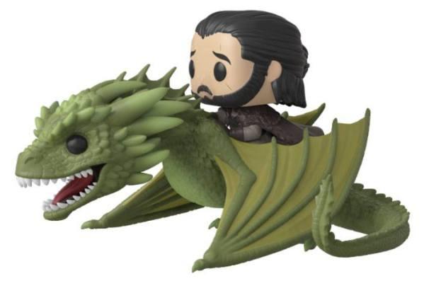 Game of Thrones Funko POP! Rides Figura - Jon Snow & Rhaegal 18 cm
