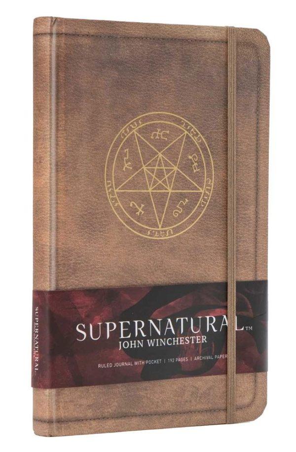 Supernatural Hardcover Jegyzetfüzet - John Winchester