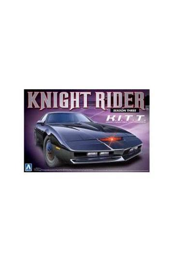 Knight Rider Plastic Modelkit 1/24 Pontiac Transam 2000 K.I.T.T. Season 3