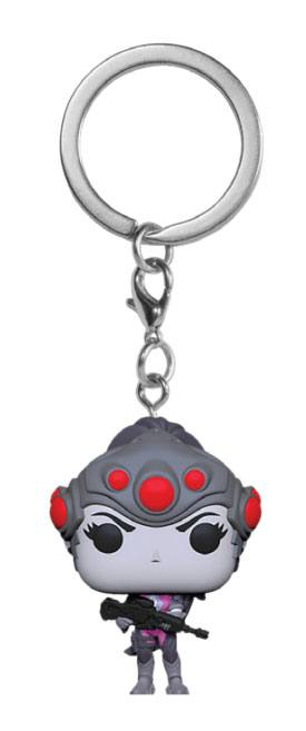 Overwatch Funko Pocket POP! kulcstartó - Widowmaker 4 cm