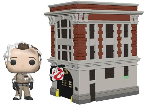 Ghostbusters Funko POP! Town Figura - Dr. Peter Venkman & House 9 cm