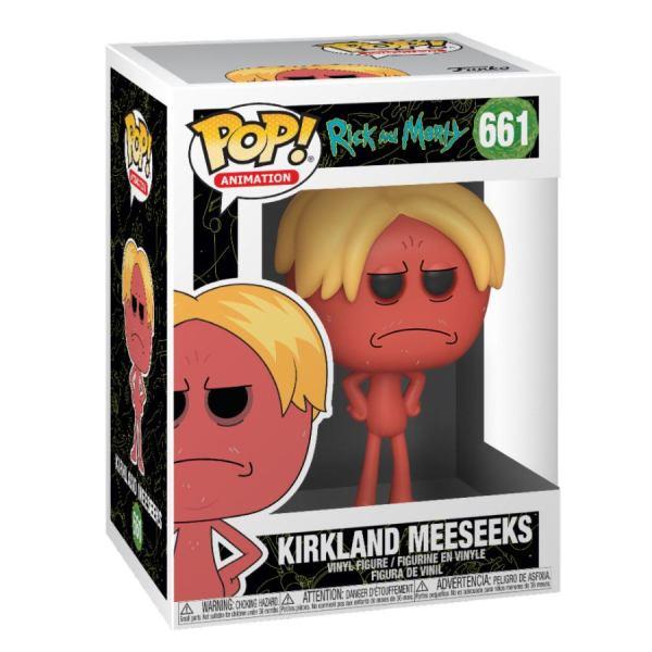 x_fk44251 Rick and Morty Funko POP! figura - Kirkland Meeseeks 9 cm