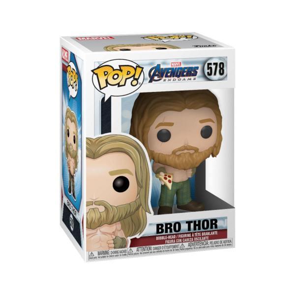 x_fk45142 Avengers: Endgame Funko POP! Figura - Thor w/Pizza 9 cm