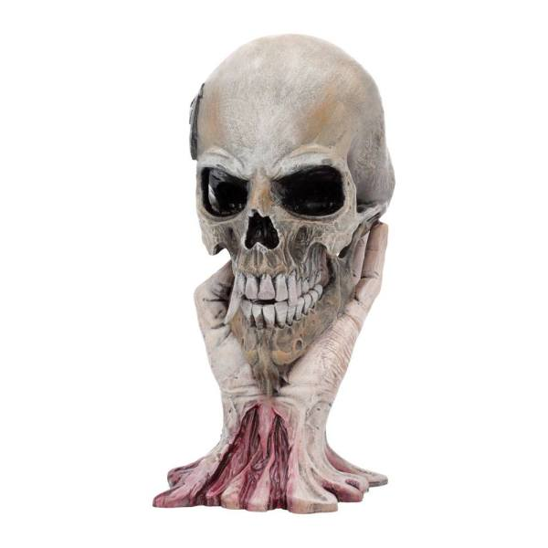 x_nemn-b4696n9 Metallica Szobor - Sad But True Skull 22 cm