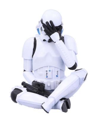 Original Stormtrooper Figura - See No Evil Stormtrooper 10 cm