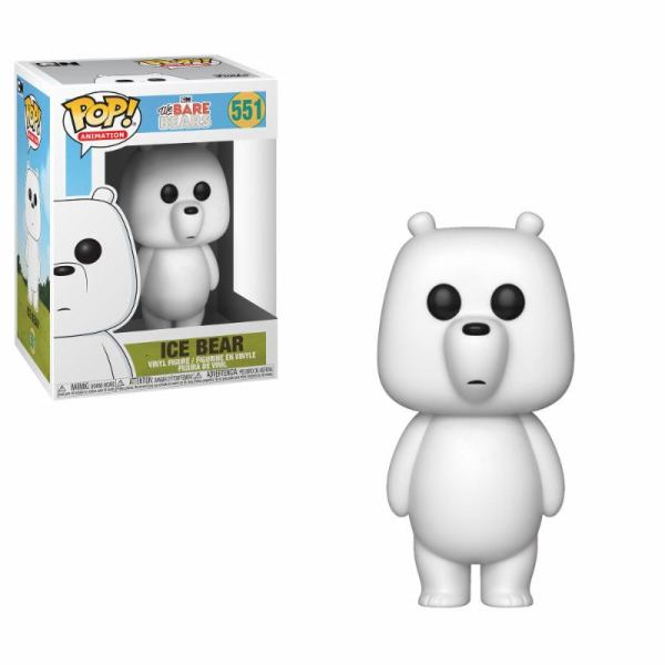 We Bare Bears Funko POP! Animation Figura - Ice Bear 9 cm