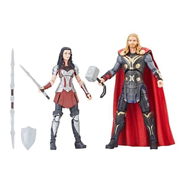 x_hase2448_f Thor: The Dark World Marvel Legends Series Akciófigura 2-Pack - Thor & Sif 15 cm