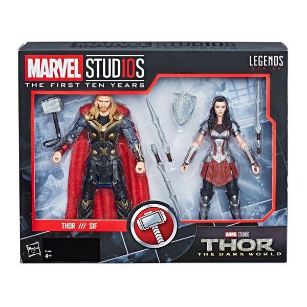 Thor: The Dark World Marvel Legends Series Akciófigura 2-Pack - Thor & Sif 15 cm