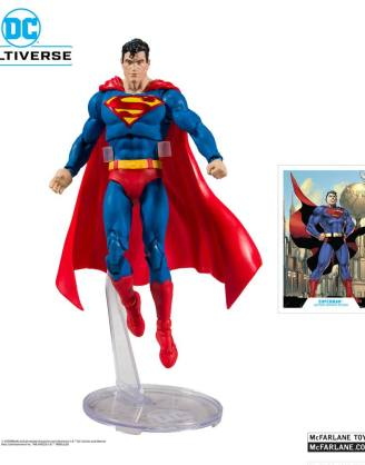 DC Rebirth Akciófigura - Superman (Modern) Action Comics #1000 18 cm