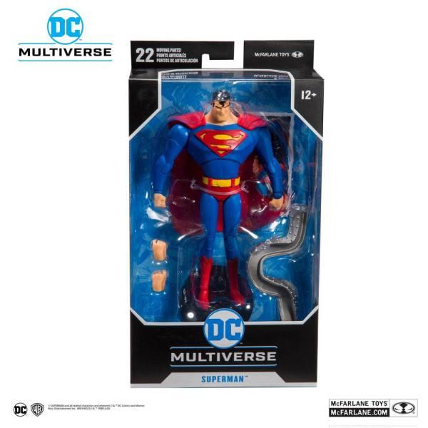 x_mcf15502-0_d Batman: The Animated Series Akciófigura - Superman 18 cm