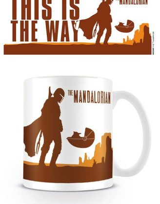 SStar Wars The Mandalorian Bögre - This is the Way