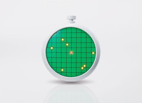 x_btn57628-6 Dragon Ball Proplica Replica 1/1 Dragon Radar 10 cm