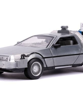 Back to the Future II Hollywood Rides Diecast Model 1/24 - DeLorean Time Machine