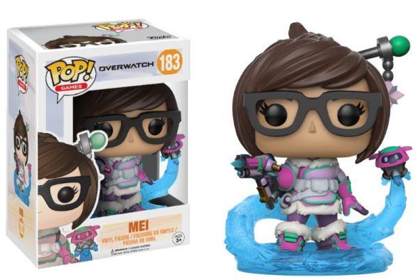 Overwatch Funko POP! Figura - Mei 9 cm