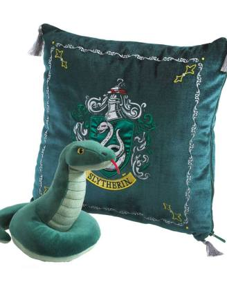 Harry Potter House Mascot Párna Plüss figurával - Slytherin