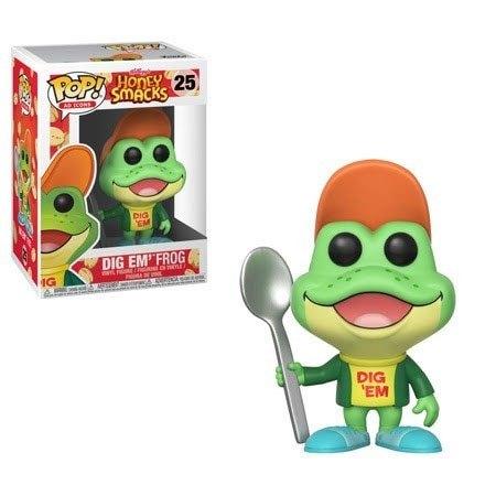 x_fk30674 Honey Smacks Funko POP! Ad Icons Figura - Dig'em Frog 9 cm
