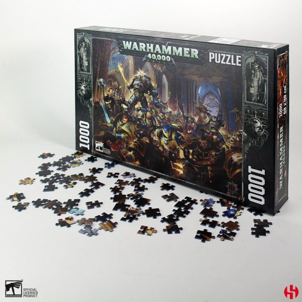 Gulliman vs Black Legion (1000 pieces)