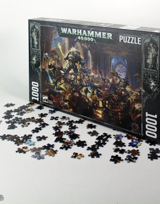 Gulliman vs Black Legion (1000 pieces)