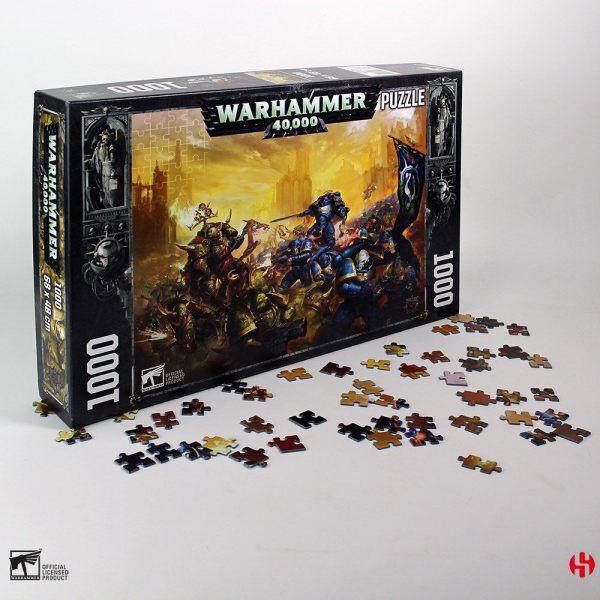 Warhammer 40K Jigsaw Puzzle Dark Imperium (1000 pieces)