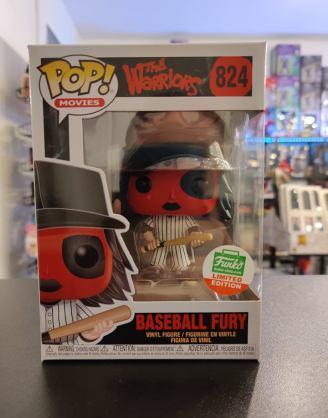 Funko POP Funko Shop EX Movies: Warriors - Baseball Fury red