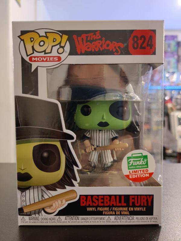 Funko POP Funko Shop EX Movies: Warriors - Baseball Fury green