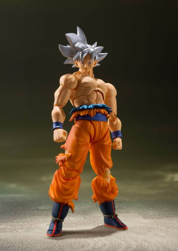 Dragon Ball Super S.H. Figuarts Akciófigura - Son Goku Ultra Instinct 14 cm