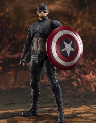 Avengers: Endgame S.H. Figuarts Akciófigura - Captain America (Final Battle) 15 cm