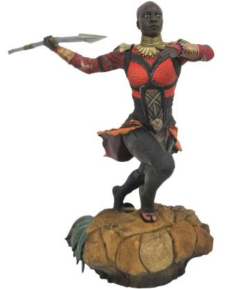 Black Panther Marvel Movie Gallery PVC Szobor - Okoye 23 cm