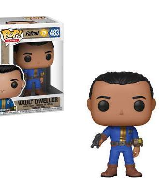 x_fk39039 Fallout 76 POP! Games Vinyl Figure Vault Dweller (Male) 9 cm